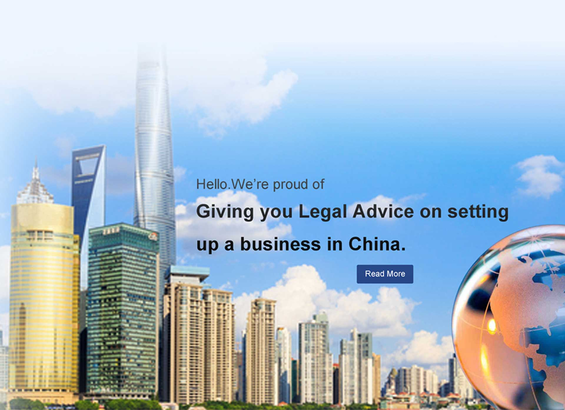 Investment in China Legal Service